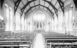 Pantasaph, The Chapel Interior, St Clare's Convent c.1933