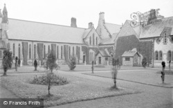 The Chapel, St Clare's Convent c.1933, Pantasaph