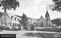 The Friary And Church c.1955, Pantasaph