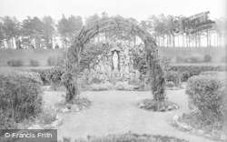 The Grotto, St Clare's Convent c.1933, Pantasaph