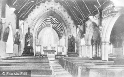 The Higher Altar, St David's Church c.1935, Pantasaph