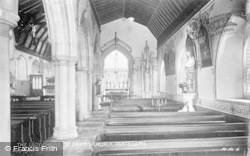 The Lady Chapel, St David's Church c.1935, Pantasaph