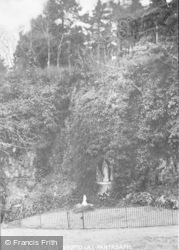 Pantasaph, The Lourdes Grotto c.1935
