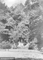 Pantasaph, The Lourdes Grotto c.1950
