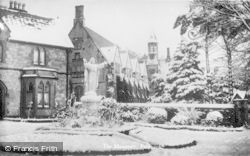 The Monastery In The Snow c.1935, Pantasaph