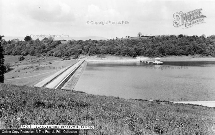 Photo of Panteg, Llandegfedd Reservoir c.1960