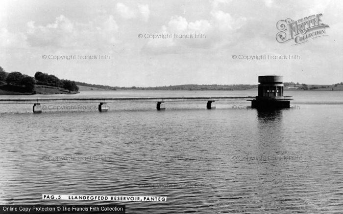 Photo of Panteg, Llandegfedd Reservoir c.1960