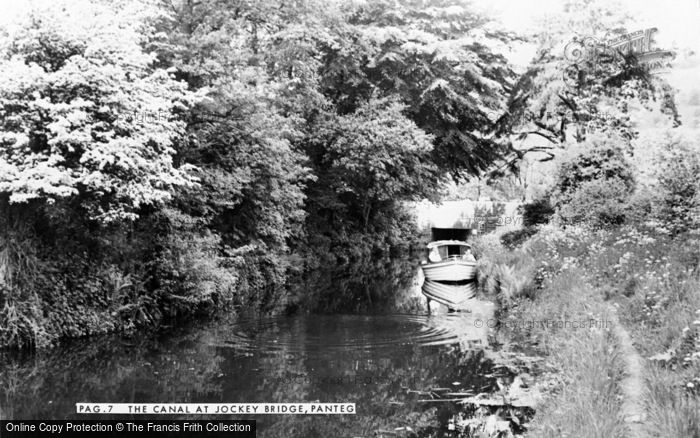 Photo of Panteg, The Canal At Jockey Bridge c.1960