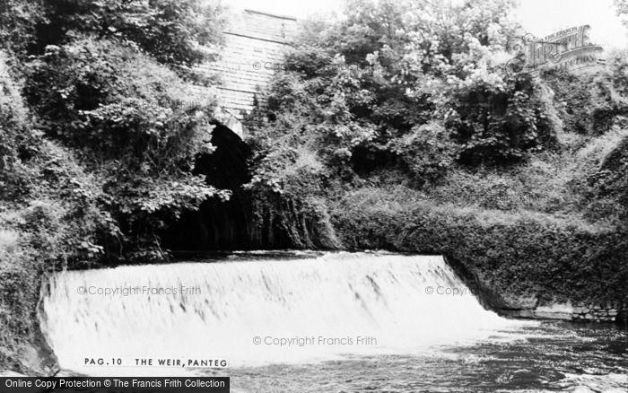 Photo of Panteg, The Weir c.1960