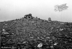 Papa Stour, Cairn, Hill Of Fielie 1959