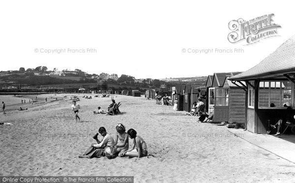 Photo of Par, Beach Huts 1938