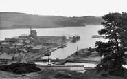 Par, Harbour from Mount 1927