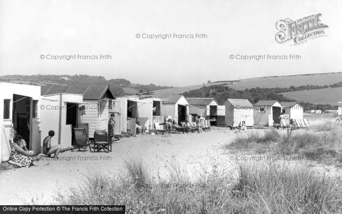 Photo of Par, The Beach Huts c.1960