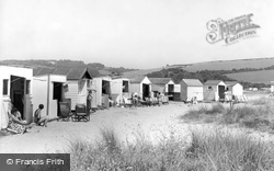Par, the Beach Huts c1960