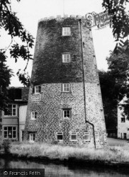 Old Windmill By The Canal c.1960, Parbold