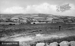 View Of Ashurst Beacon From The Hill c.1955, Parbold