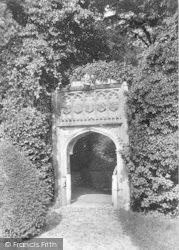 Parham Hall Gateway 1909, Parham
