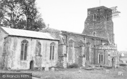 Parham, The Church c.1955