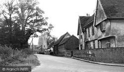 The Village c.1955, Parham
