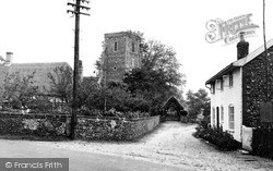 Parham, The Village c.1960