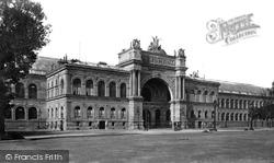 Champs Elysees, Palais De L'industrie c.1871, Paris