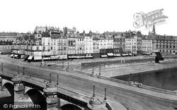 City Island From Pont Neuf c.1871, Paris