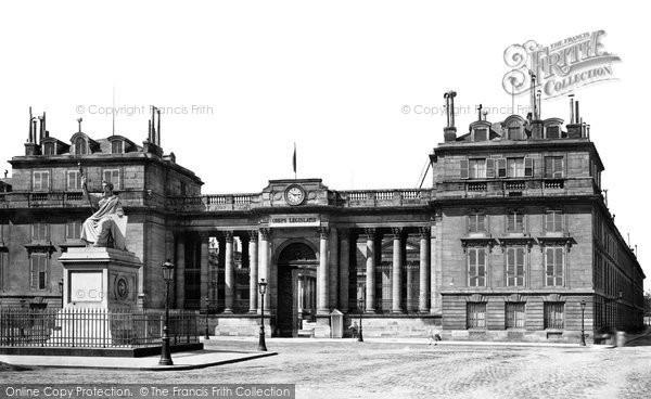 Photo of Paris, Corps Legislatif c.1871