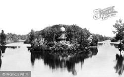 Lac De Bois De Boulogne c.1871, Paris