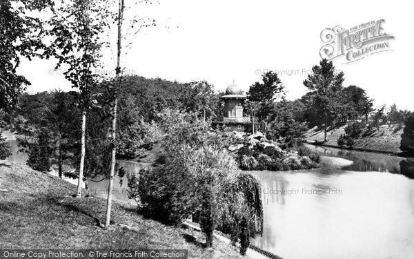 Photo of Paris, Lac De Bois De Boulogne Kiosque c.1871