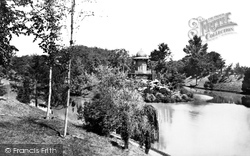 Lac De Bois De Boulogne Kiosque c.1871, Paris