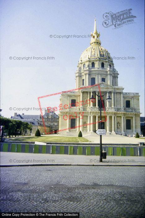 Photo of Paris, Les Invalides, Napoleon's Tomb 1994