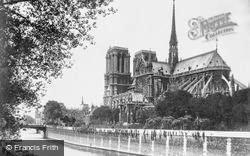 Notre-Dame And The Seine c.1930, Paris