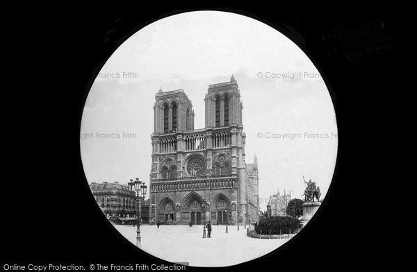Photo of Paris, Notre Dame c.1880