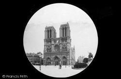 Notre-Dame c.1880, Paris