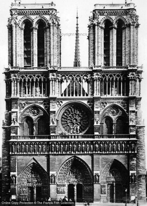 Photo of Paris, Notre Dame c.1920