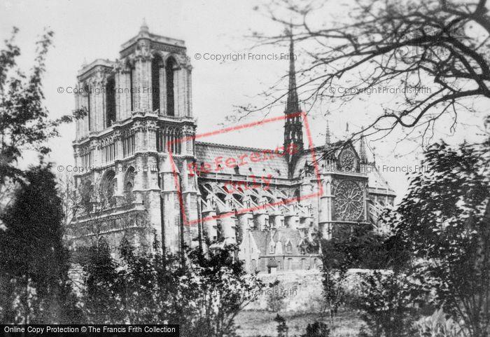 Photo of Paris, Notre Dame c.1930