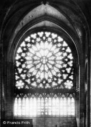 Notre-Dame Cathedral, Rose Window c.1930, Paris