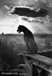 Notre-Dame, Chimera c.1930, Paris