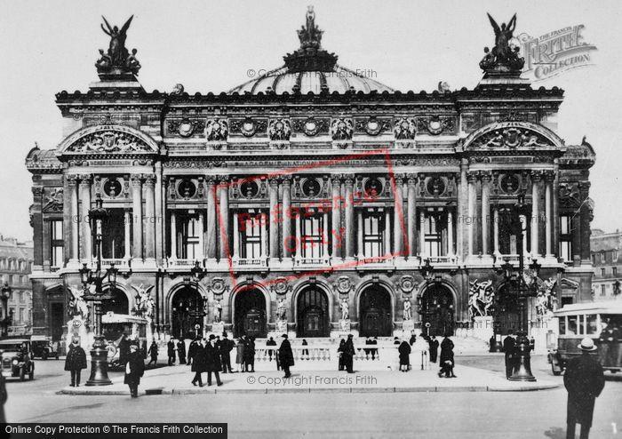 Photo of Paris, Opéra c.1920