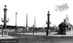 Place De La Concorde c.1871, Paris