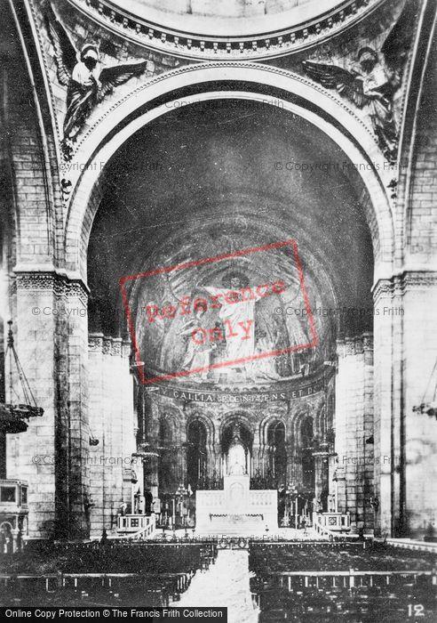 Photo of Paris, Sacré Cœur, Altar c.1930