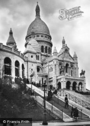 Sacré-Cœur Basilica c.1930, Paris
