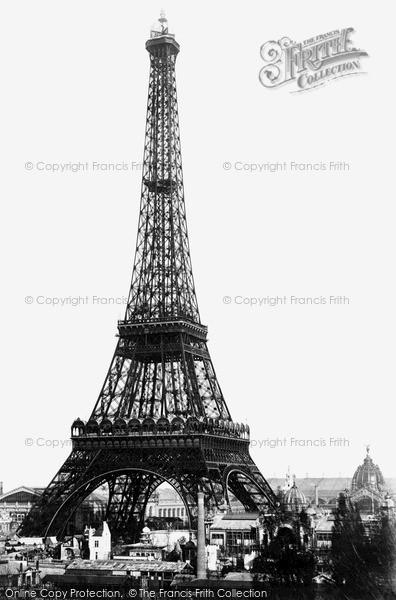 Photo of Paris, The Eiffel Tower c.1890