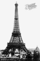 The Eiffel Tower c.1890, Paris