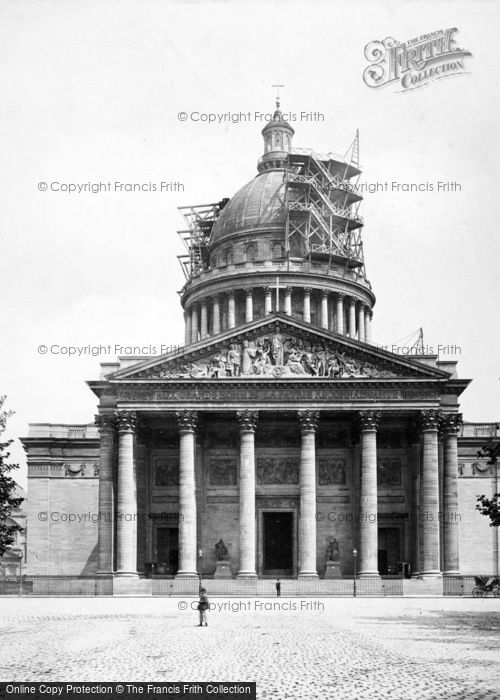 Photo of Paris, The Pantheon c.1867