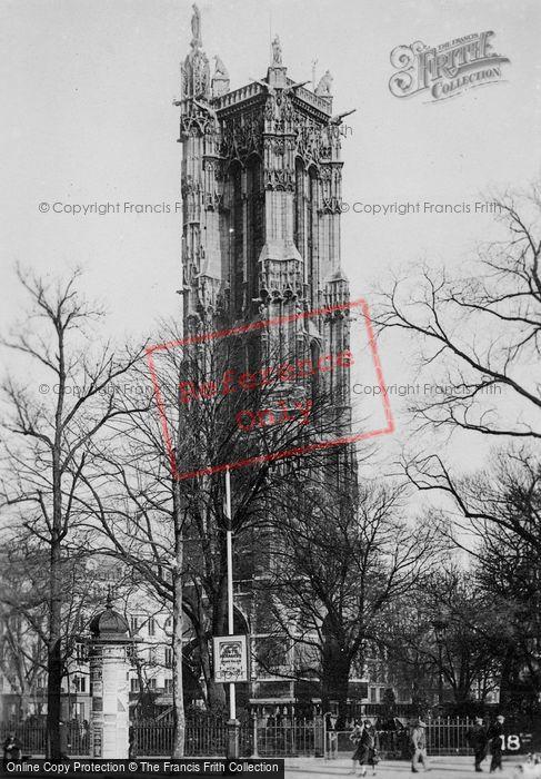 Photo of Paris, Tour Saint Jacques c.1920