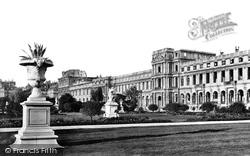 Tuileries Gardens And Palace c.1871, Paris