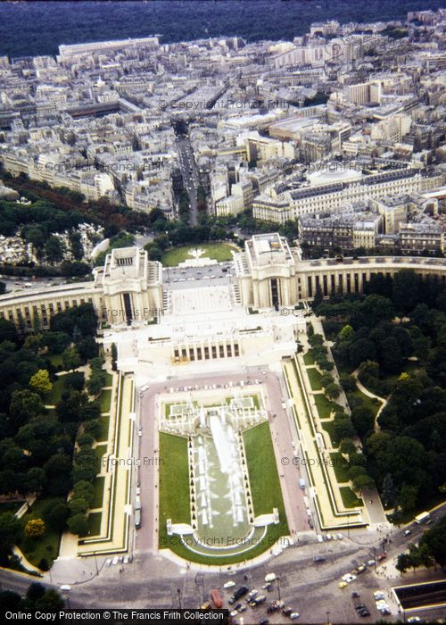 Photo of Paris, View From The Eiffel Tower 1965