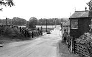 Parkend, Railway Crossing c1965