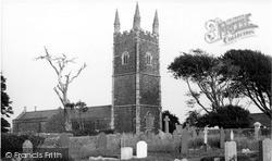 Parkham, St James' Church c.1955